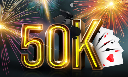 €50,000 Missions Fireworks
